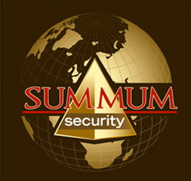 Logo summum securiry société gardiennage